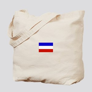 serbia and montenegro flag Tote Bag